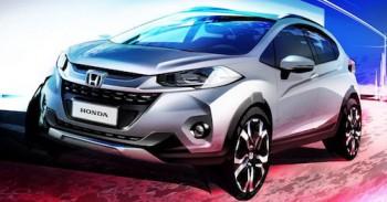 Honda представит компактный кроссовер WR-V в ноябре