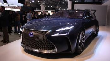 Lexus LS новой генерации дебютирует в Детройте