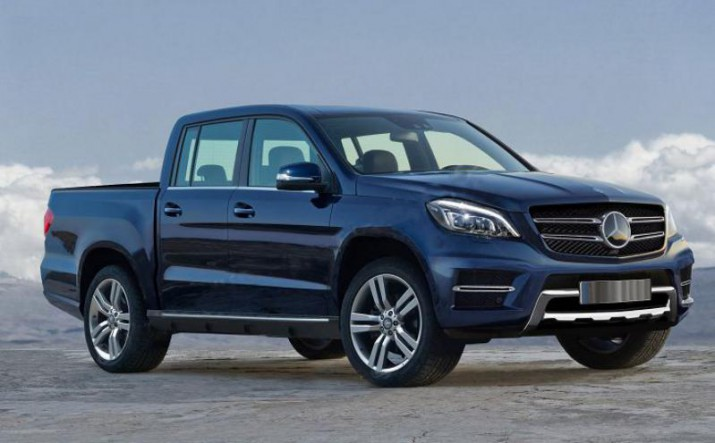 Mercedes-Benz представит новый пикап 25 октября