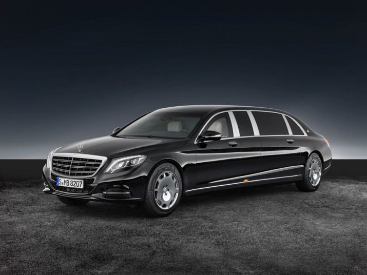 Mercedes-Maybach S600 Pullman Guard 2017 Фото 08