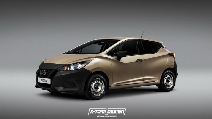 Nissan Micra рендер 2017