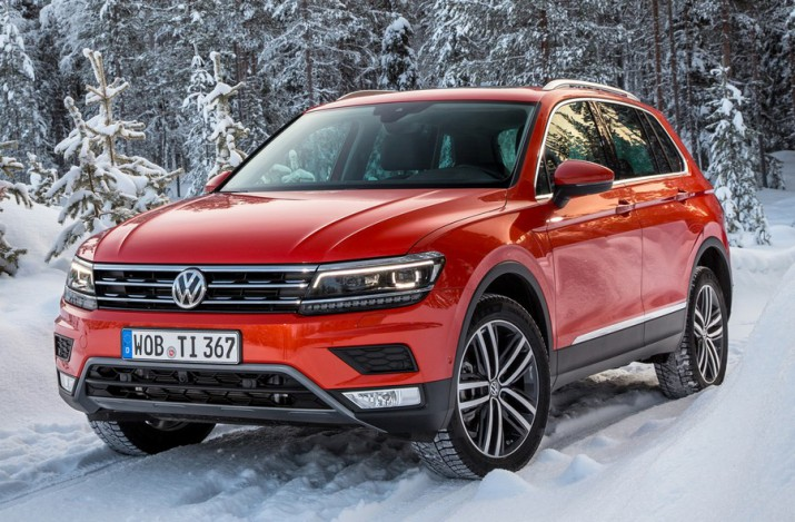 официальная стоимость нового Volkswagen Tiguan для России