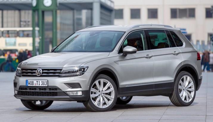 сроки появления нового Volkswagen Tiguan в России