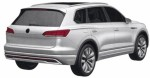 эскизы Volkswagen Touareg третьей генерации1