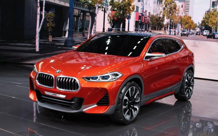 нового кросс-купе BMW X2 показали в Париже