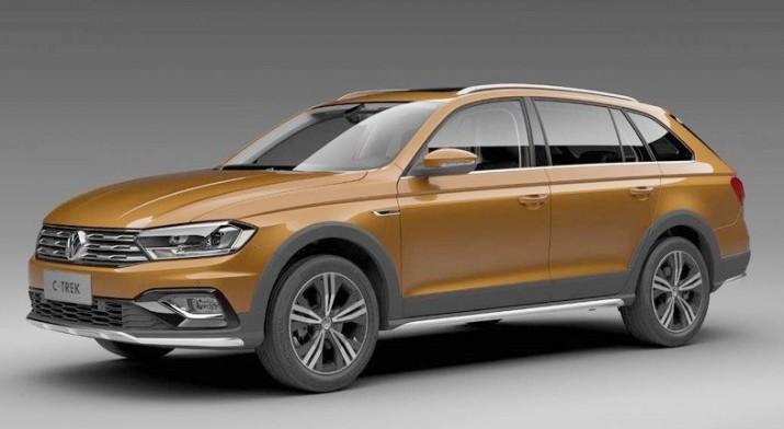 официальный дебют нового внедорожного универсала Volkswagen