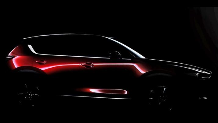 сети появился официальный тизер новой Mazda CX-5