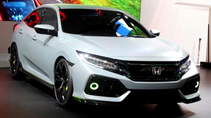 Франции официально представили новое поколение Honda Civic 2017
