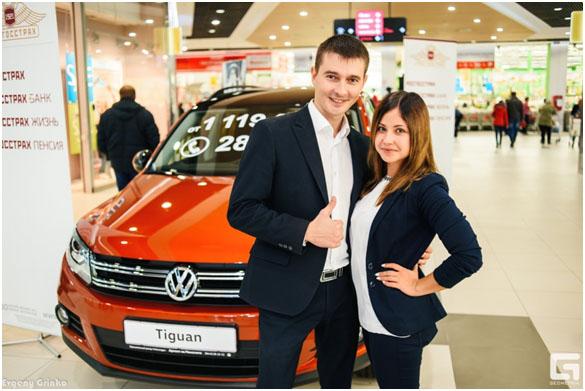 Volkswagen Tiguan в ТРЦ Акварель