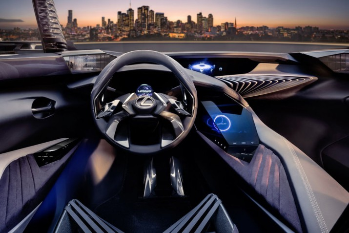 Lexus UX 2017 Фото 02