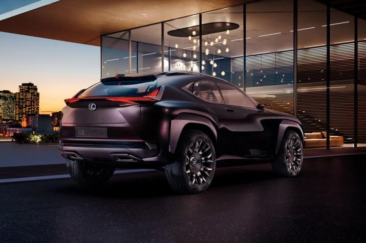 Lexus UX 2017 Фото 03