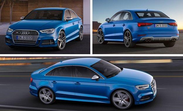 Audi тестирует обновленный премиальный седан S3
