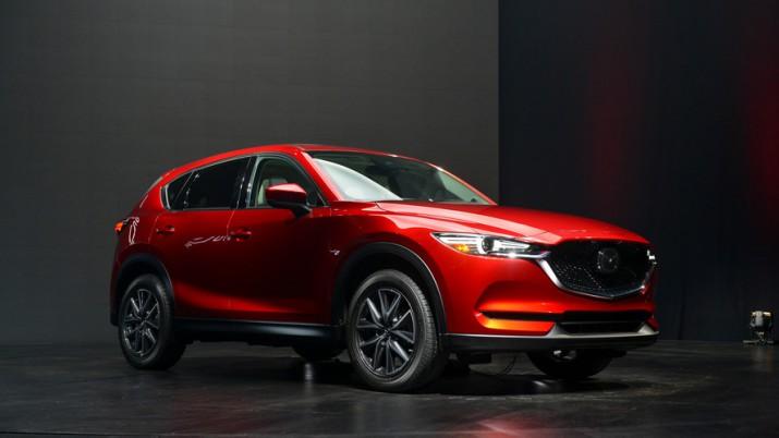 нового поколения Mazda CX-5 состоялся в Лос-Анджелесе