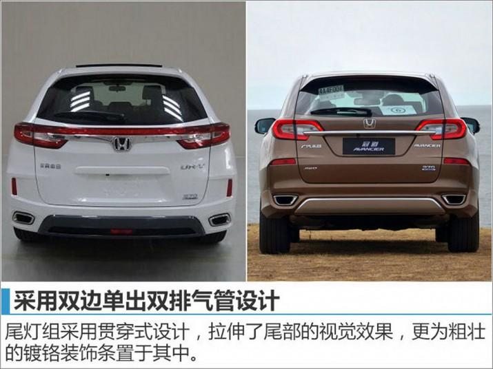 Honda UR-V для Китая 2016 Фото 01