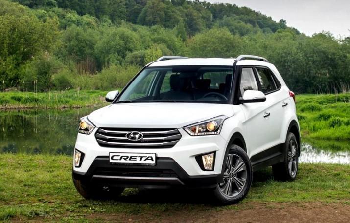 Hyundai Creta стал признан самым популярным кроссовером в России
