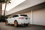 Jaguar F-PACE золотые диски 2016 фото 3