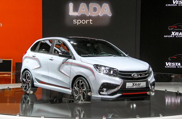 Lada XRAY Sport встаёт на конвейер в Тольятти