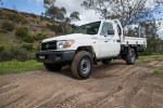 2016 Toyota LandCruiser 70 Series Single Cab Chassis Workmate