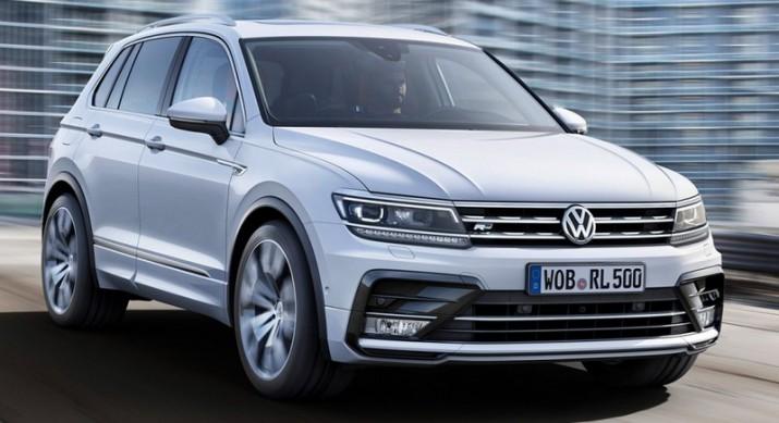 калужском заводе VW была выпущена партия бракованных кроссоверов Tiguan