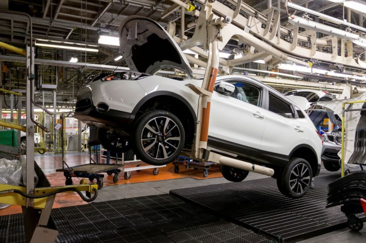 Nissan завод Великобритания 2016 Фото 03