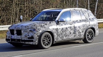 BMW X5 показал себя на шпионском видео