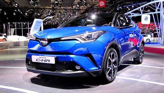 кроссовер Toyota CH-R встал на конвейер в Турции
