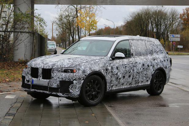 внедорожник от BMW заметили на тестах в Германии