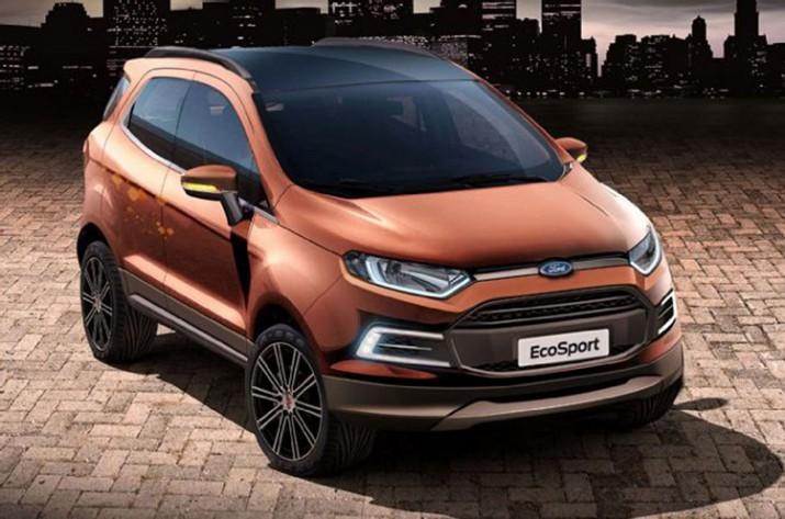 первая информация о новом Ford EcoSport 2017