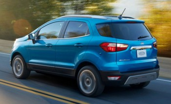 Ford Ecosport представили в Лос Анджелесе