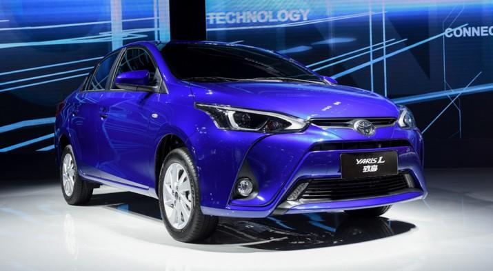 Toyota рассекретила новый седан Yaris L