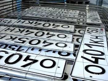 МВД приступили к разработке нового формата номеров для автомобилей и мототехники