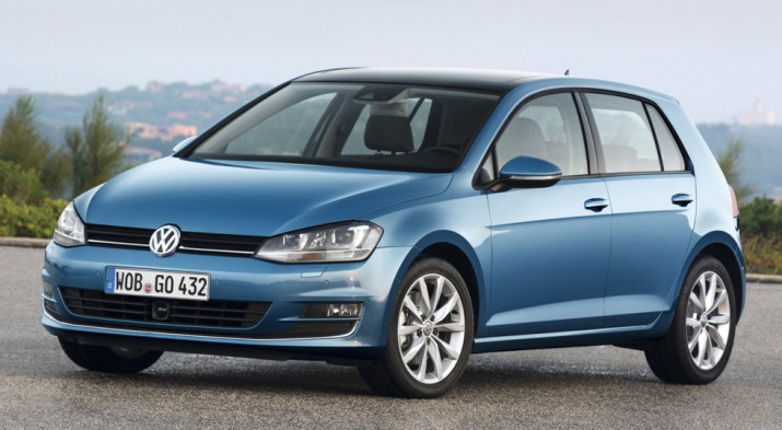 Volkswagen Golf нового поколения появился на тизерном видео