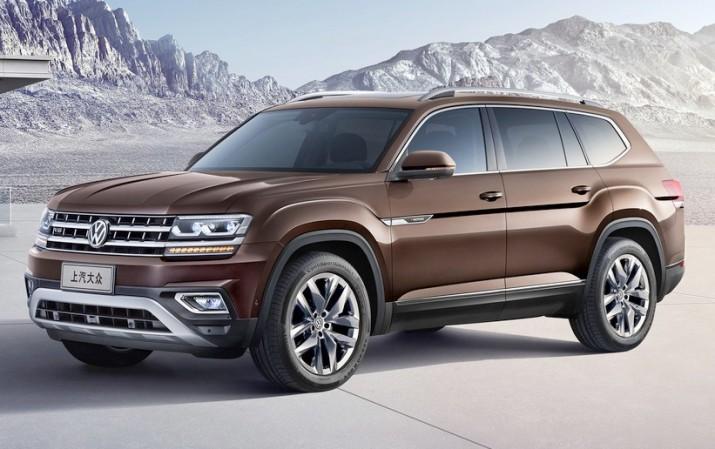 Volkswagen Teramont встал на китайский конвейер