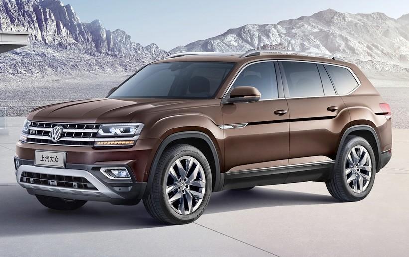 В КНР стартовало производство вседорожника VW Teramont