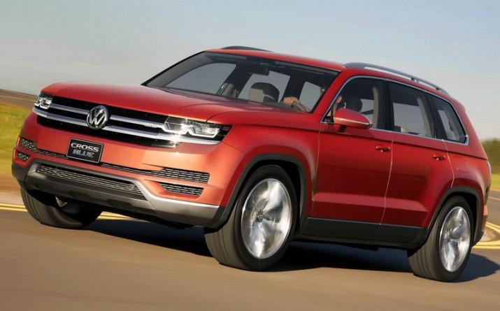 Volkswagen планирует начать поставки нового внедорожника Atlas в Россию из США