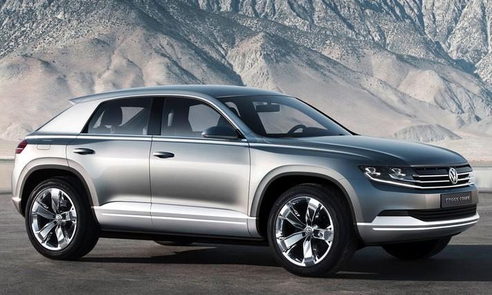 Volkswagen задумался о выпуске кросс-купе на базе SUV Tiguan