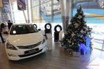 Новогодний день в автоцентре Hyundai Агат