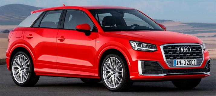 Audi Q2 пока не приедет в Россию
