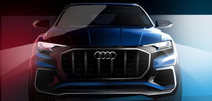 Audi Q8 2017 Фото 1