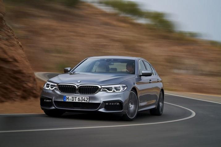 BMW 5-Series 2017 Фото 18