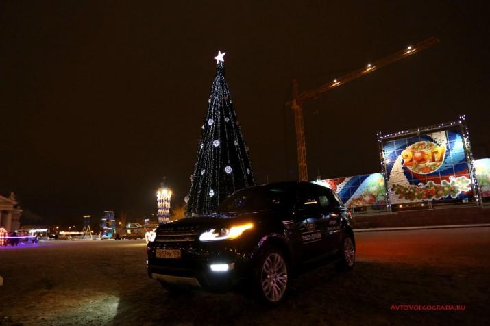 Тест драйв Range Rover Sport