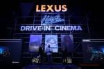 Lexus Live – очередное автомобильное киноприключение в Москве