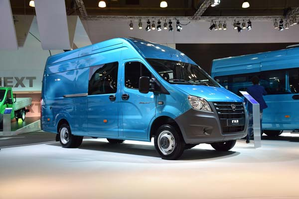 В Российской Федерации начались продажи микроавтобусов «ГАЗель NEXT»