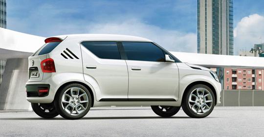Suzuki представила компактный хэтчбэк Ignis 2016