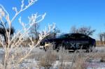 Зимние полеты на Jaguar XE или тест-драйв Снежного Барса