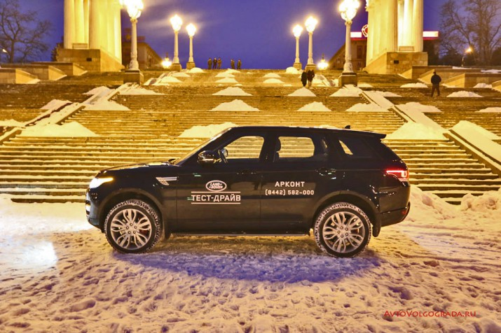 Тест-драйв Range Rover Sport 2016 Фото 09