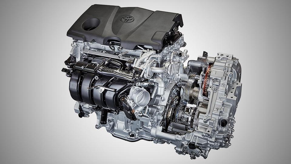 Тоёта презентовала новый бензиновый мотор идве АКП