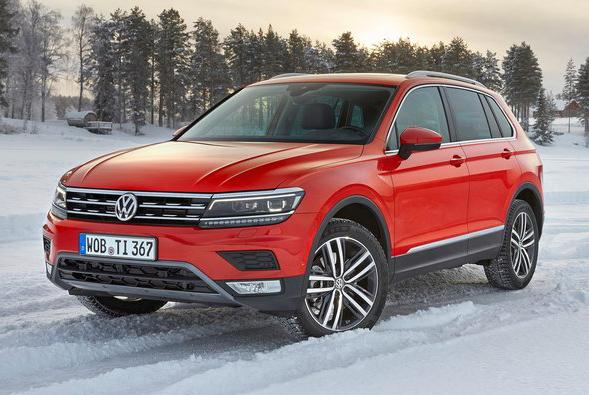 Volkswagen Tiguan второго поколения вошел в десятку популярных европейских автомобилей