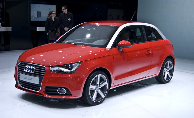 Audi A1 первые потери на российском рынке в 2017 году