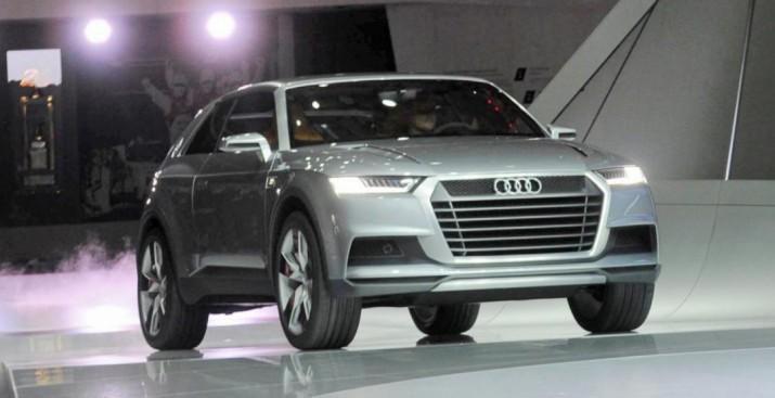 Audi Q8 презентовали в Детройте и показали на видео тизере